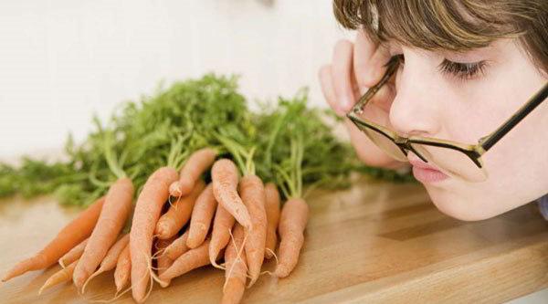 морковь для зрения полезна