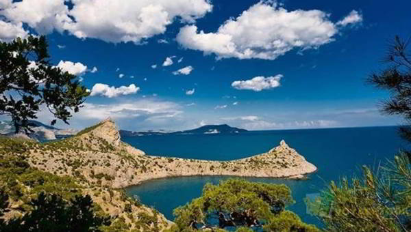 красивое побережье крыма