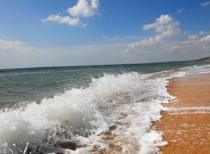 песочный пляж крыма