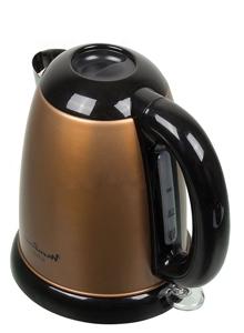 электро чайник, коричневый