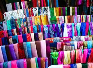 шелковые ткани, рынок