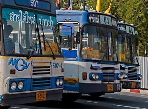 автобусы в тайланде
