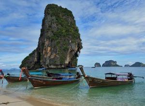 Море, лодки, тайланд