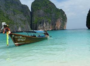 лето, море, лодка